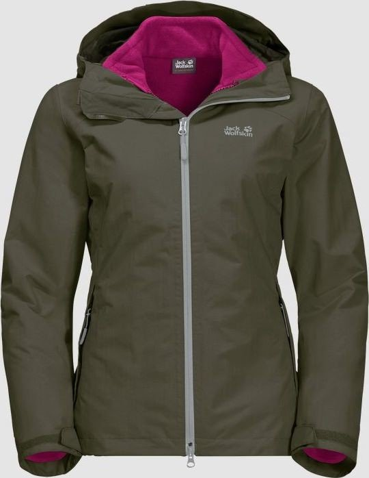 Jack Wolfskin Gotland 3in1 Jacket grape leaf (ladies) (1110601-5066)
