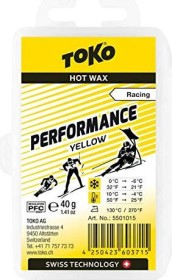 Toko Performance Hot Gleitwax 40g gelb (5502015)