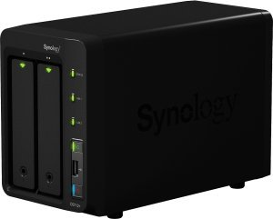 Synology Diskstation DS712+ 2000GB, 2x Gb LAN