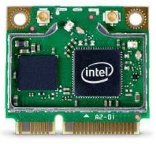Intel Centrino Advanced-N 6235, 300Mbps (MIMO) Dual Band (simultan), PCIe Half Mini Card (6235AN.HMWWB)