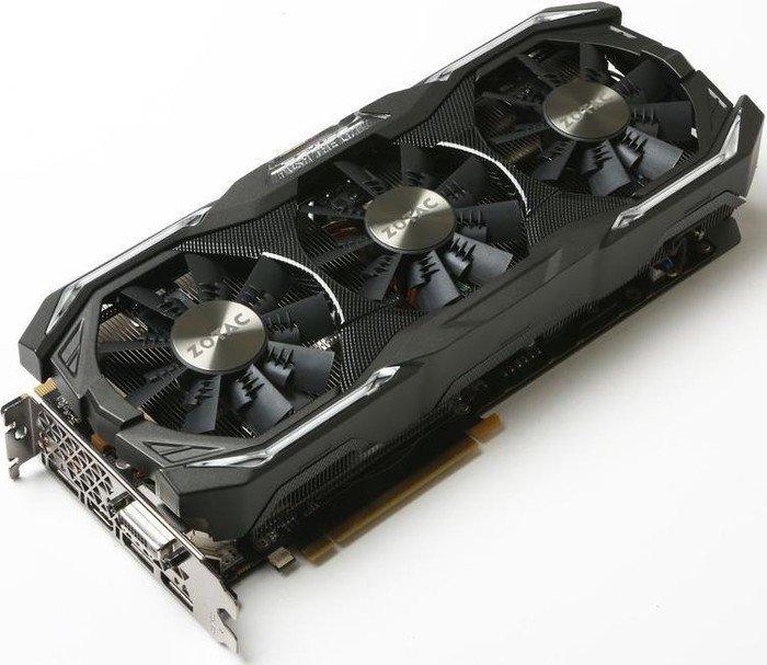 Zotac GeForce GTX 1070 AMP Extreme Core, 8GB GDDR5, DVI, HDMI, 3x DP (ZT-P10700Q-10P)