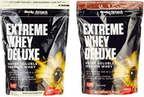 Body Attack Extreme Whey Deluxe Protein Nuss/Nougat 1.8kg (2x 900g)