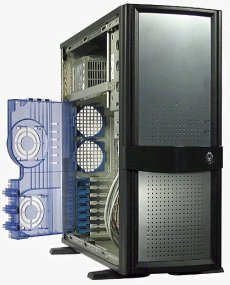 Casetek CK-1018 Midi-Tower (various colours, various Power Supplies)