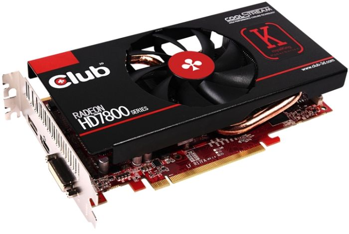 Club 3D Radeon HD 7850 royalKing, 2GB GDDR5, DVI, HDMI, 2x mini DisplayPort (CGAX-7856O)