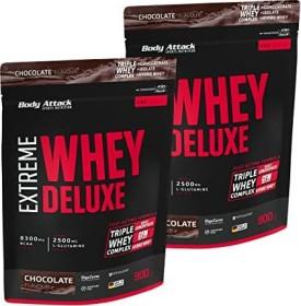 Body Attack Extreme Whey Deluxe Protein Schokolade 1.8kg (2x 900g)