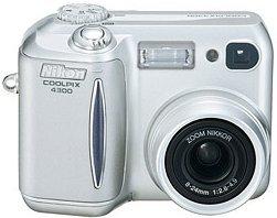 Nikon Coolpix 4300 schwarz (VAA129EC)