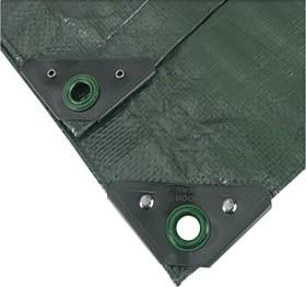 Noor Profi Garten-Abdeckplane grün 4x5m (0420405PXXGR)