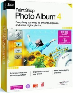 Corel/Jasc: Paint sklep Photo Album 4.0 (aktualizacja) (PC)