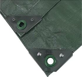 Noor Profi Garten-Abdeckplane grün 4x6m (0420406PXXGR)
