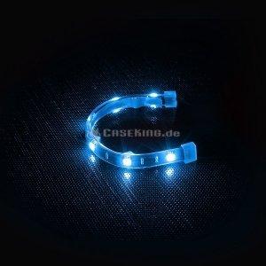 BitFenix Alchemy Aqua 20cm, 6 LED blau (BFA-AAL-20BK6-RP) -- © caseking.de
