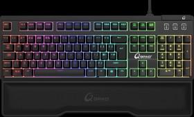 QPAD MK-75 Pro Gaming Keyboard, MX RGB BROWN, USB, UK (9J.P7Q81.K0U)