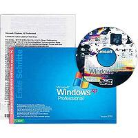 Microsoft: Windows XP Professional Edition OEM/DSP/SB, sztuk 1 (angielski) (PC)