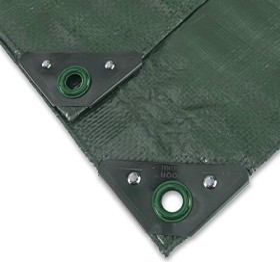 Noor Profi Garten-Abdeckplane grün 6x8m (0420608PXXGR)