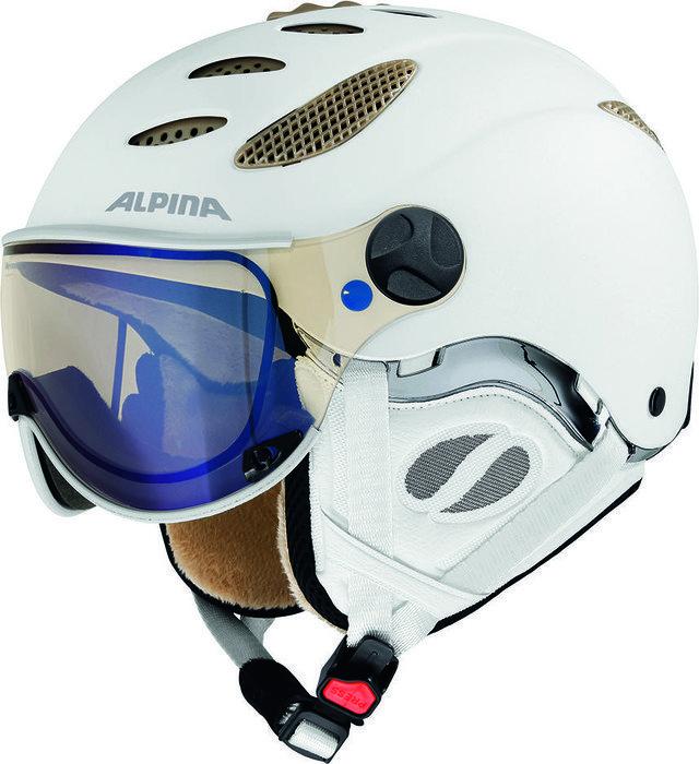 Alpina Jump JV Varioflex kask biały matowy (A9037.X.17)