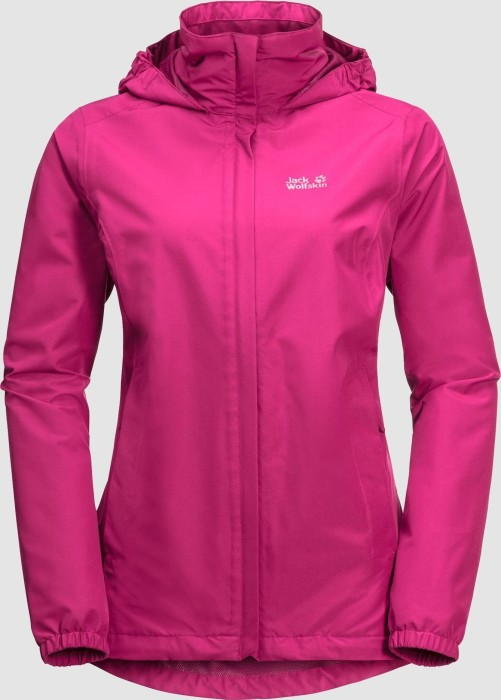 quality design ee38a fdc55 Jack Wolfskin Stormy Point Jacke pink peony (Damen) (1111201-2010) ab €  73,27