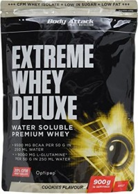 Body Attack Extreme Whey Deluxe Protein Vanille 1.8kg (2x 900g)