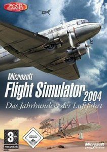 Microsoft Flight Simulator 2004 - A Century of Flight (niemiecki) (PC)
