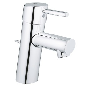 """Grohe Concetto one-hand-bathroom sink tap 1/2"""" S-Size with drain remote chrome (3220410E)"""