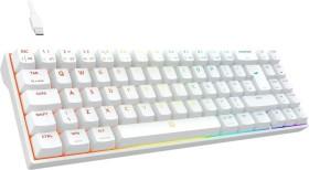 Drevo Calibur V2 TE PC/Mac, weiß, LEDs RGB, MX RGB BROWN, USB, UK