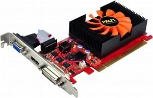 Palit GeForce GT 440, 2GB DDR3, VGA, DVI, HDMI (NEAT4400HD41)