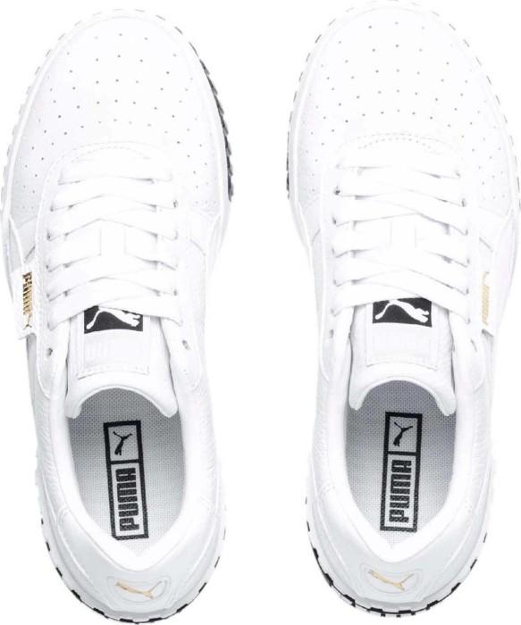 Puma Cali Wn's Damen Sneaker weiß schwarz 369155 04