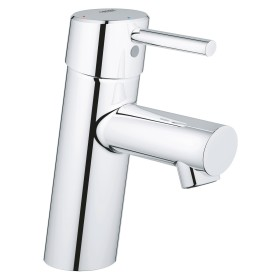 """Grohe Concetto one-hand-bathroom sink tap 1/2"""" S-Size SilkMove ES chrome (2338510E)"""