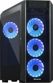 Chieftec Gamer GL-03B Scorpion 3 RGB schwarz, Glasfenster (GL-03B-OP)