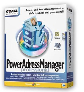 GData Software: PowerAdressManager Professional (PC)