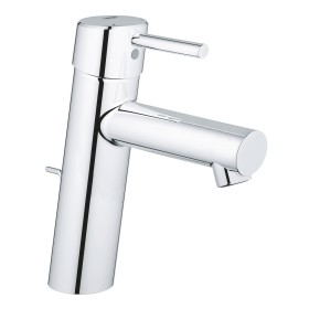 """Grohe Concetto one-hand-bathroom sink tap 1/2"""" M-Size with drain remote chrome (23450001)"""