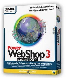 GData Software: PowerWebShop3 Professional (PC)