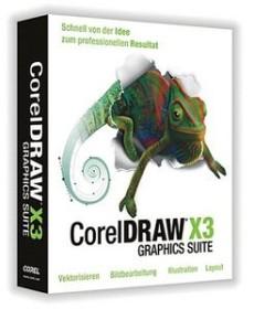 Corel CorelDraw Graphics Suite X3 (German) (PC) (CDGSX3GERPC)