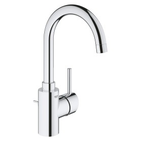 """Grohe Concetto one-hand-bathroom sink tap 1/2"""" L-Size with drain remote chrome (32629002)"""