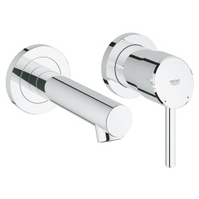 Grohe Concetto 2 holes-bathroom sink tap chrome (19575001)