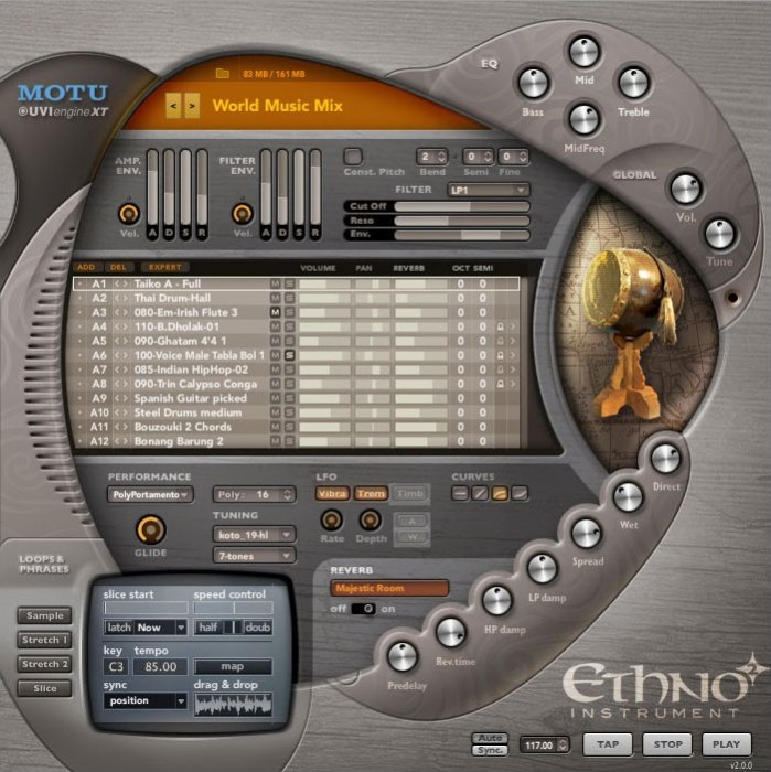 MOTU Ethno Instrument (englisch) (PC/MAC) -- via Amazon Partnerprogramm