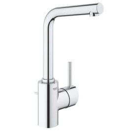 """Grohe Concetto one-hand-bathroom sink tap 1/2"""" L-Size with drain remote chrome (23739002)"""