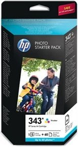 HP 343 Photo Starter Pack (Q7948EE)