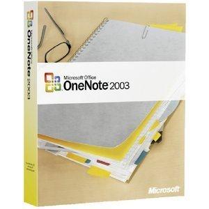 Microsoft OneNote 2003 (niemiecki) (PC) (S26-00142)