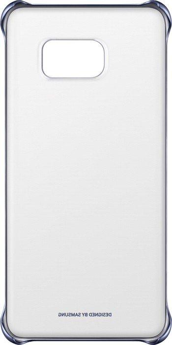 Samsung Clear Cover für Galaxy S6 Edge+ blau (EF-QG928CBEGWW)