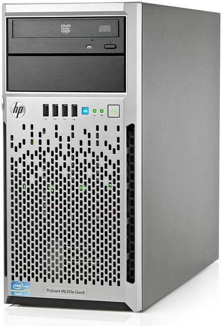 HP ProLiant ML310e Gen8, Xeon E3-1220 v2, 2GB RAM, 500GB HDD (674785-041)