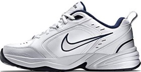 Nike Air Monarch IV whitemetallic silver (Herren) (415445 102) ab € 49,90