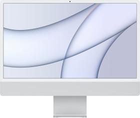 """Apple iMac 24"""" silber, Apple M1, 7 Core GPU, 8GB RAM, 256GB SSD [2021 / Z13K] (MGTF3D/A)"""