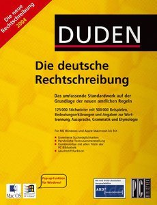Duden - the German spelling rules (German) (PC/MAC)