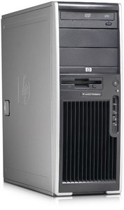 HP Workstation xw4550, Opteron 1216 2x 2.40GHz, 1GB RAM, 250GB, Windows Vista Business (various types)