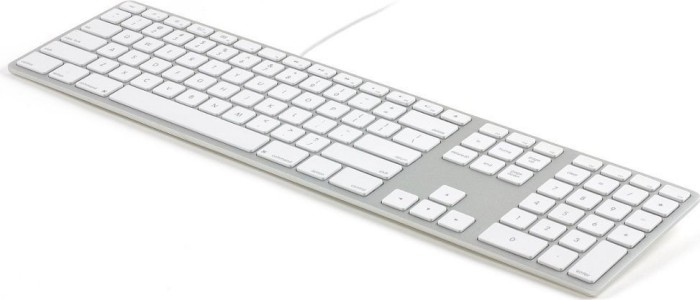Matias Wired Aluminum Mac Keyboard, silber, USB, US (FK318S-US)