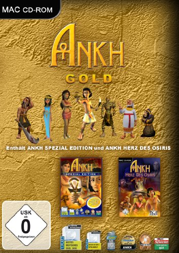 Ankh - Special Edition (niemiecki) (MAC) -- via Amazon Partnerprogramm