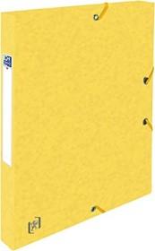 Oxford Top File+ Sammelbox A4, 25mm, gelb (400114362)