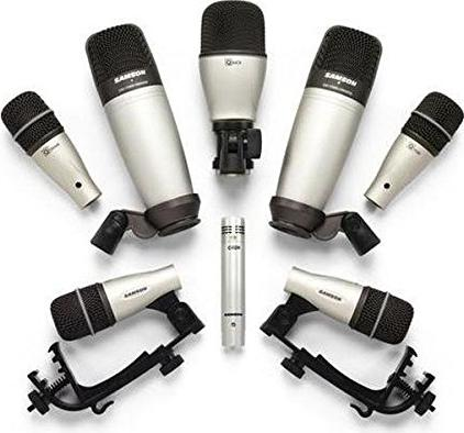 Samson 8kit drum microphone set -- via Amazon Partnerprogramm