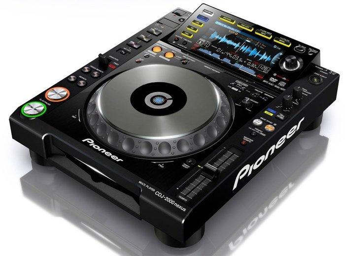 Pioneer CDJ-2000 Nexus CD turntable black