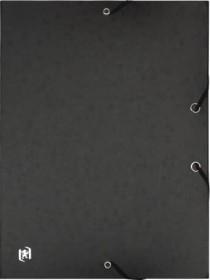 Oxford Top File+ Sammelbox A4, 25mm, schwarz (400114363)