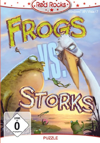 Red Rocks - Frogs vs Storks (deutsch) (PC) -- via Amazon Partnerprogramm